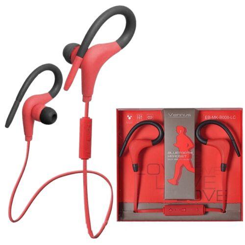 Vennus cseppálló bluetooth sztereó headset (BT-1), piros