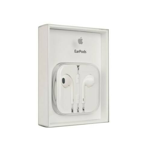 Apple iPhone 5, 5s, SE, eredeti, gyári vezetékes sztereó headset, EarPod, MD827, BLISTERES (3,5mm jack), fehér