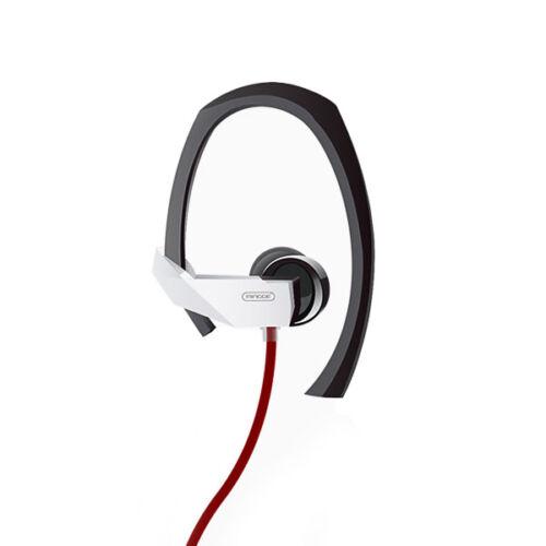 Mingge M23 sport vezetékes sztereó headset (3,5mm jack), fekete - piros