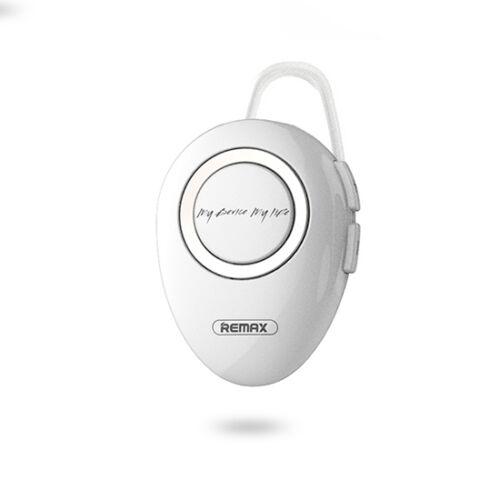 Remax RB-T22, bluetooth headset, (multipoint + EDR), fehér