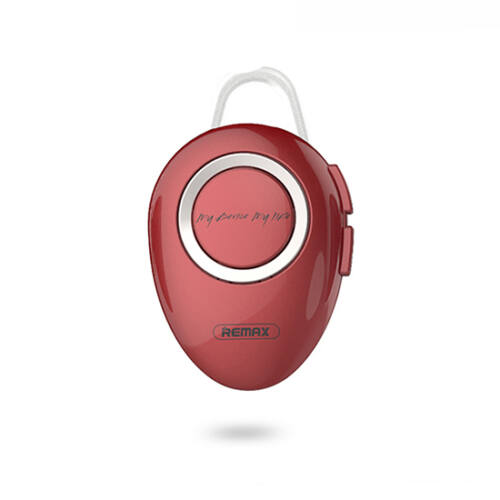 Remax RB-T22, bluetooth headset, (multipoint + EDR), piros