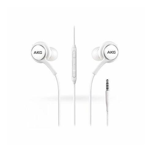 Samsung Galaxy S10 AKG gyári típusú vezetékes sztereó headset EO-IG955, G973 (3,5mm jack), fehér
