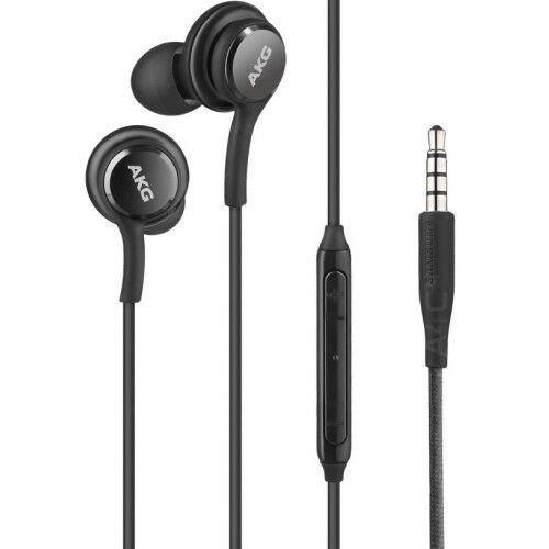 Samsung Galaxy S10 AKG gyári típusú vezetékes sztereó headset EO-IG955, G973 (3,5mm jack), fekete