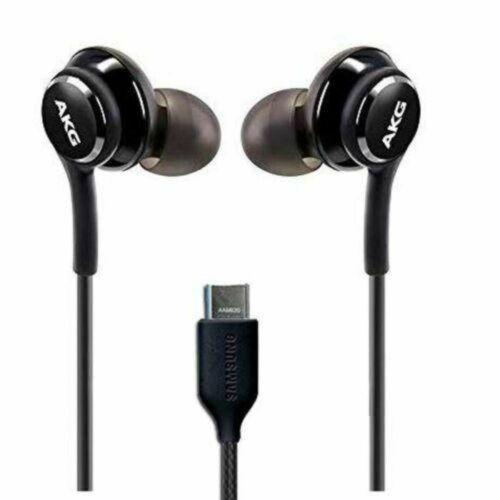 Samsung Galaxy S10 AKG gyári típusú vezetékes sztereó headset EO-IG955, G973 (Type-C), fekete