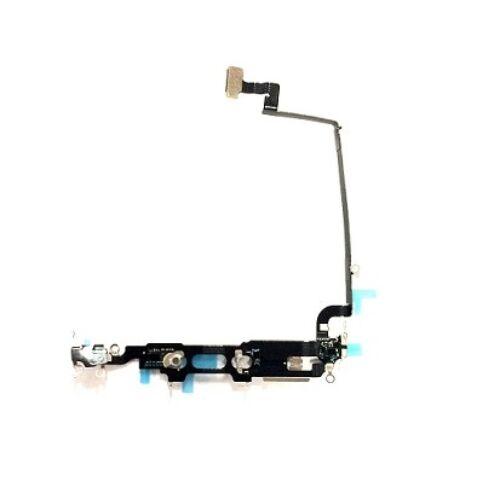 Apple iPhone XS, (5.8), gyári alsó antenna átvezető fólia (Flex, szalagkábel)