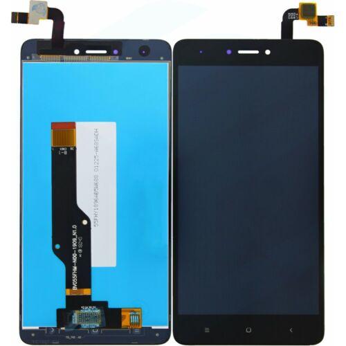 Xiaomi Redmi Note 4X, gyári típusú LCD kijelző érintőpanellel, fekete
