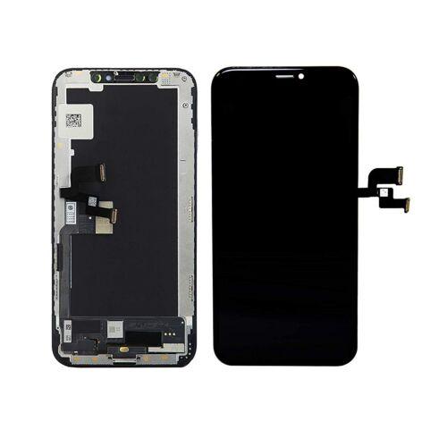 Apple iPhone XS, (5.8), OLED LCD kijelző érintőpanellel és kerettel, fekete