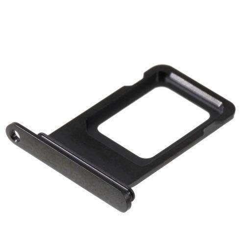 Apple iPhone XS, (5.8), gyári SIM kártya tartó  (SIM fiók), fekete