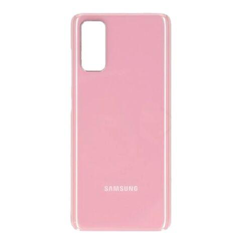 Samsung Galaxy S20 (G980), gyári típusú akkufedél, pink