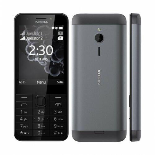 Nokia 230 DualSim kártyafüggetlen mobiltelefon, sötét szürke