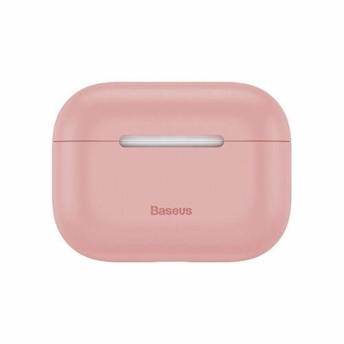 Apple AirPods Pro, Baseus szilikon tok (WIAPPOD-ABZ04), pink