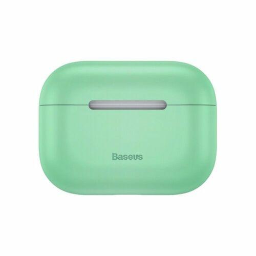 Apple AirPods Pro, Baseus szilikon tok (WIAPPOD-ABZ06), zöld