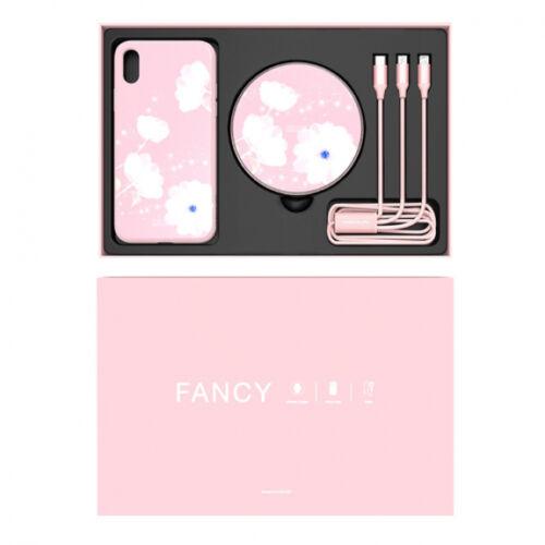 Nillkin ajándék szett Apple iPhone XS Max, (6.5) típusú készülékre (MC034), pink