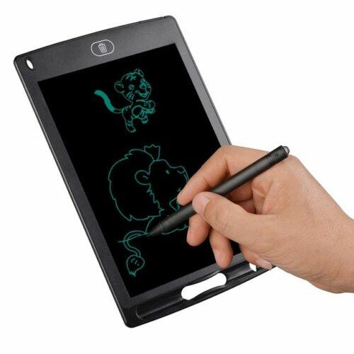 """Digitális rajztábla gyerekeknek, 8,5"""" LCD, ultra vékony, fekete"""