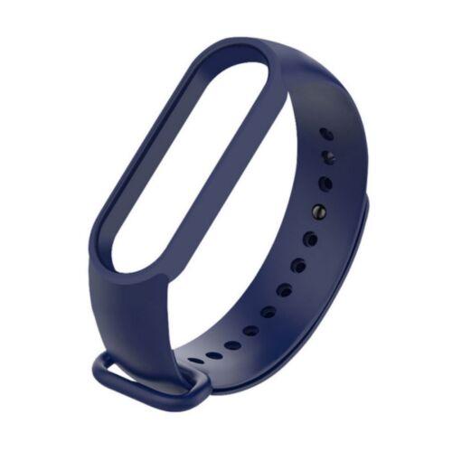 Fitness karkötő, okos karkötő szilikon szíj (M3, M4, M5), sötétkék