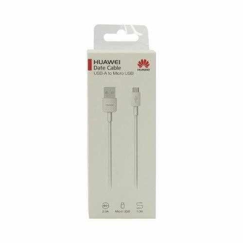 Eredeti, gyári Huawei Micro USB kábel 2A (CP70) (BLISTER), fehér