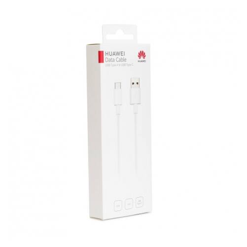 Huawei eredeti, gyári Type-c USB kábel 3A, BLISTER (CP51), fehér