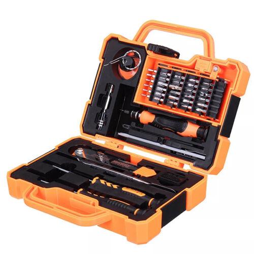 Szerszám készlet, szett, telefon szétszedéshez, kofferben, 45db-os, (JM-8139)