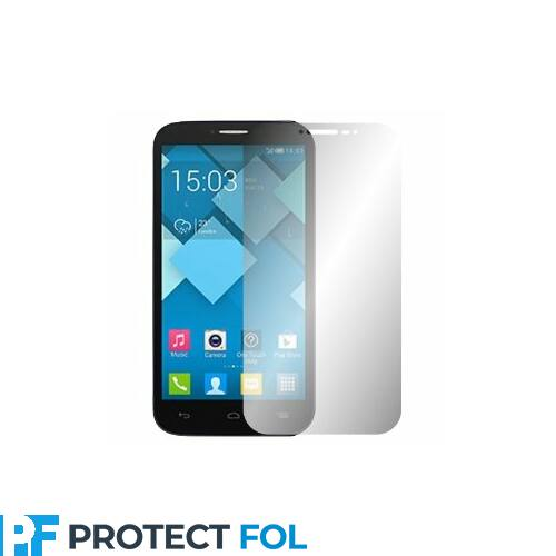 Alcatel One Touch Pop C9, (7047D) kijelzővédő fólia törlőkendővel (LCD fólia)
