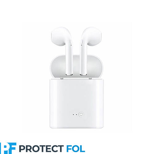 I7S TWS, sztereó bluetooth headset, power bank, (EDR), fehér