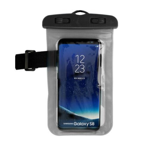 Vízálló, vízhatlan tok sportoláshoz, víz alatti fényképezéshez, hordozó zsinórral (max 160mm*90mm-es készülékhez), fekete