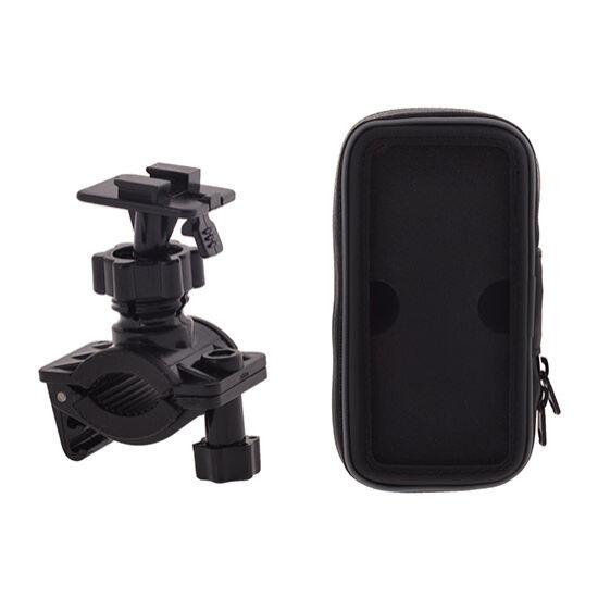 Kerékpárra szerelhető vízálló tok (Samsung Galaxy S4, S5 méretű)