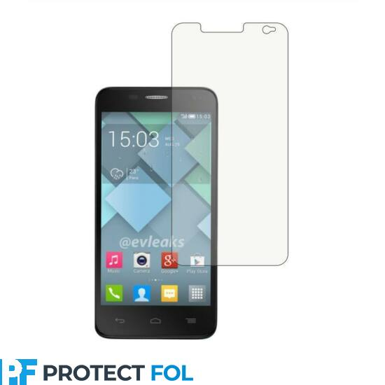Alcatel One Touch Idol Mini, (6012D) kijelzővédő fólia törlőkendővel (LCD fólia)