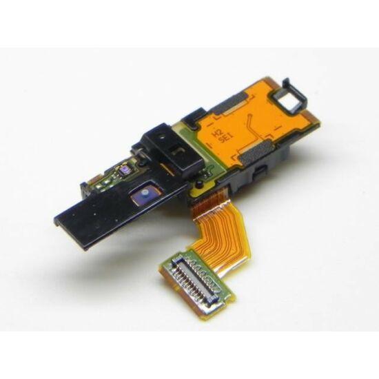 Sony Xperia Arc, X12 (LT15), gyári fényérzékelős, headset csatlakozós, rezgős és bekapcsoló (On/Off) gombos átvezető fólia (Proximity Flex, szalagkábel)