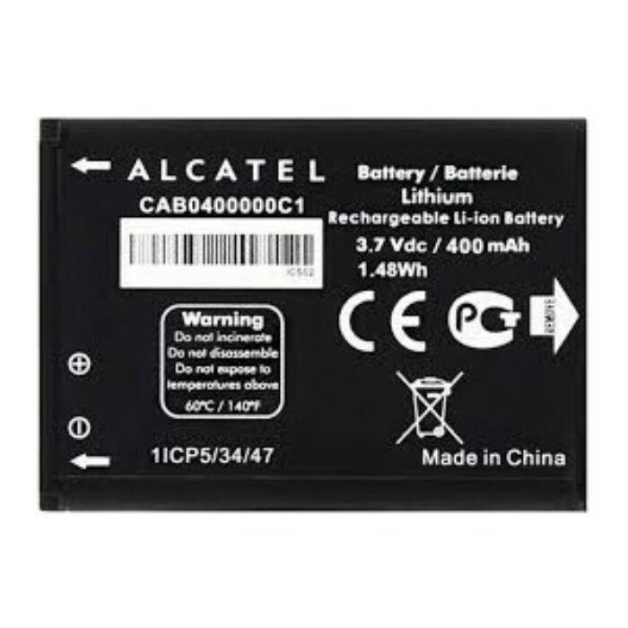 Gyári típusú akkumulátor Alcatel 2005, OT-710, OT-810, OT-815 típusú készülékhez, 850 mAh (CAB3120000C1)