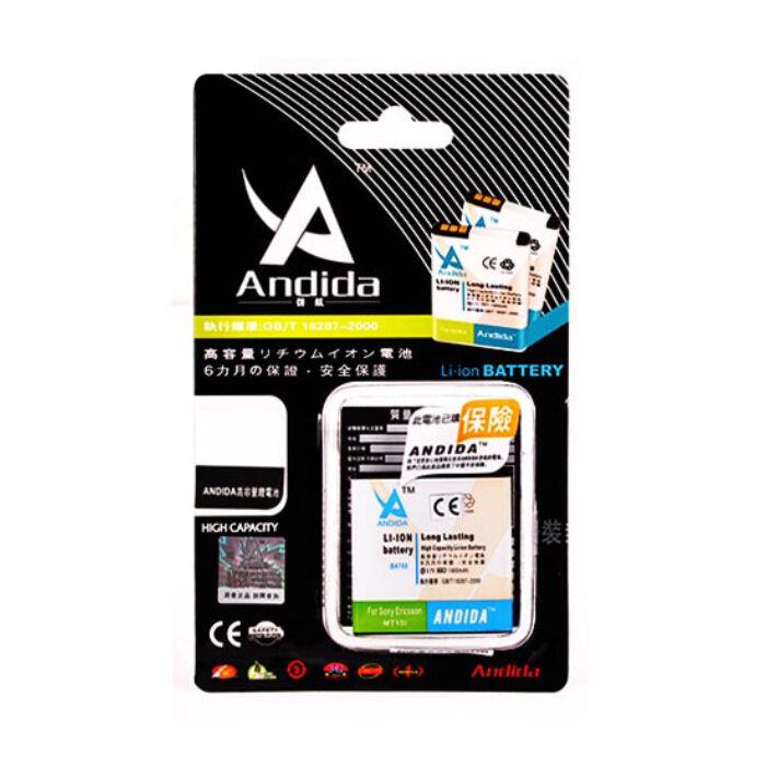 Sony Ericsson Xperia Neo, Andida utángyártott akkumulátor, 1800 mAh (BA700)