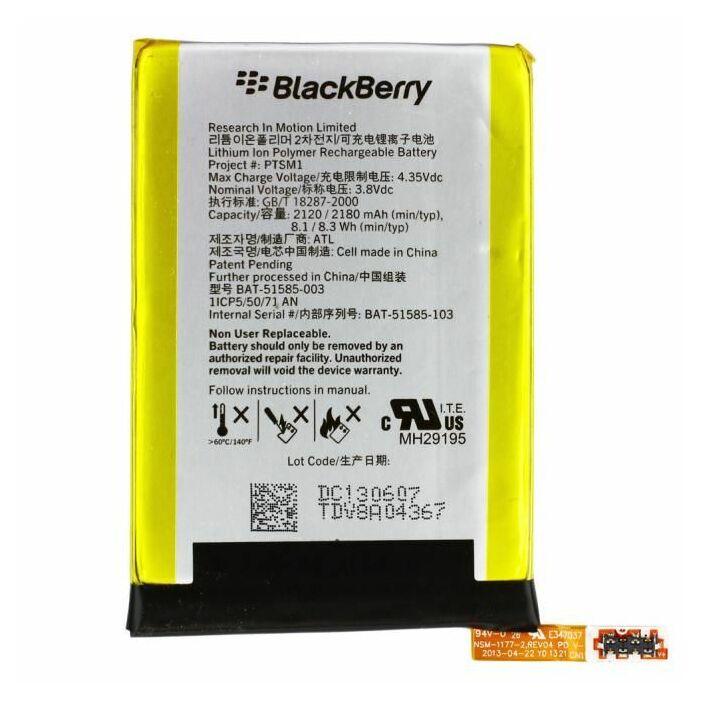 Blackberry Q5, gyári típusú akkumulátor, 2180 mAh (BAT51585-003)