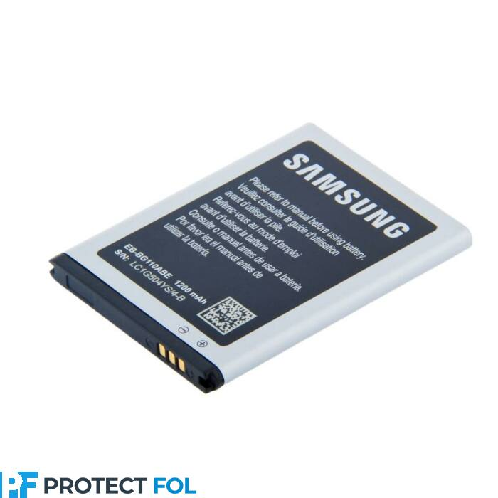 Samsung Galaxy Pocket 2 (G110), gyári típusú akkumulátor, 1250 mAh (EBBG110ABE)
