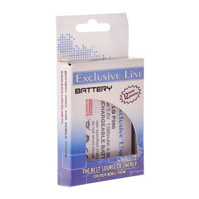 Exclusive Line utángyártott akkumulátor LG LS670, GT540 típusú készülékhez, 1000 mAh (LGIP-400N)