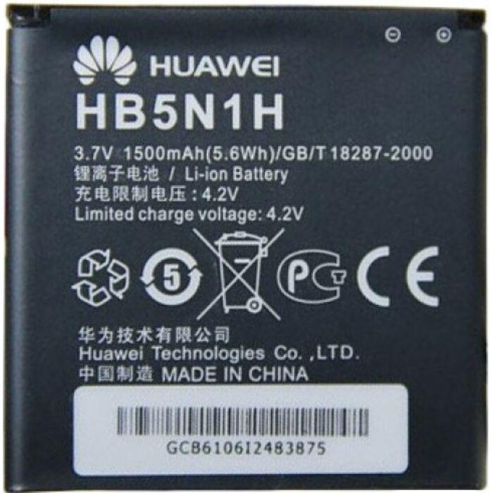 Huawei Ascend G300, Y330, gyári típusú akkumulátor, 1500 mAh (HB5N1H)