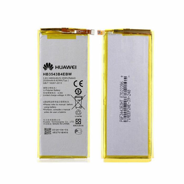 Huawei Ascend P7, gyári típusú akkumulátor, 2460 mAh (HB3543B4EBW)