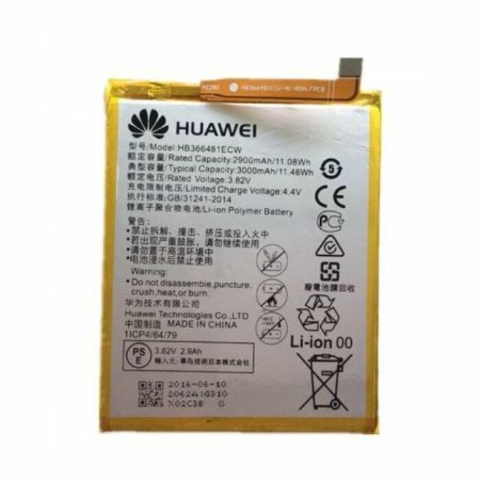 Huawei Y6 (2018), Y7 (2018), P9, P9 Lite, P8 lite (2017), P9 lite (2017), P10 lite, P20 lite, P Smart, Honor 7 Lite, Honor 8, gyári típusú akkumulátor, 2900 mAh (HB366481ECW)
