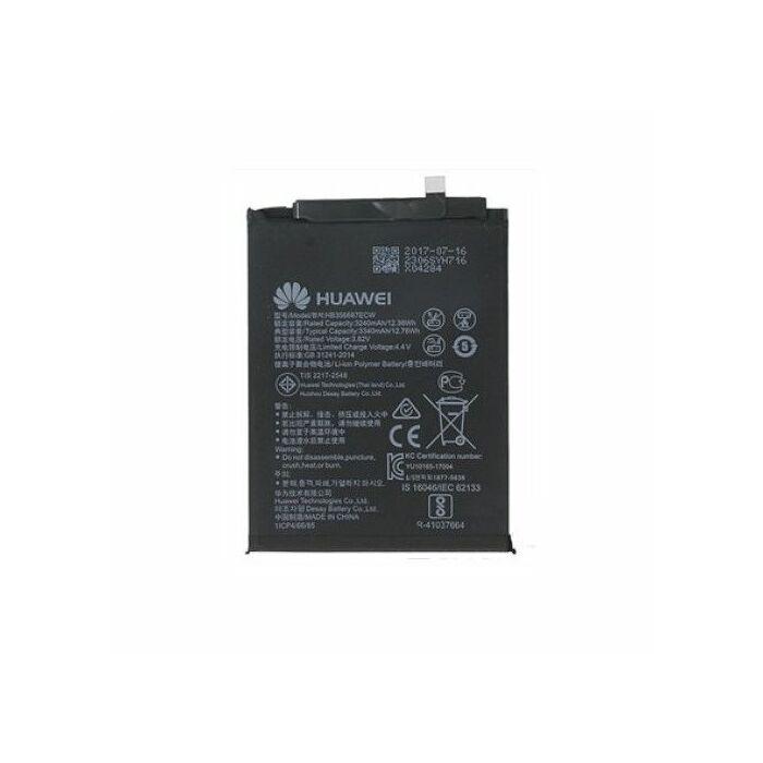 Huawei Mate 10 Lite (RNE-L01), P30 Lite (MAR-LX1A) eredeti, gyári akkumulátor, 3340 mAh (HB356687ECW)