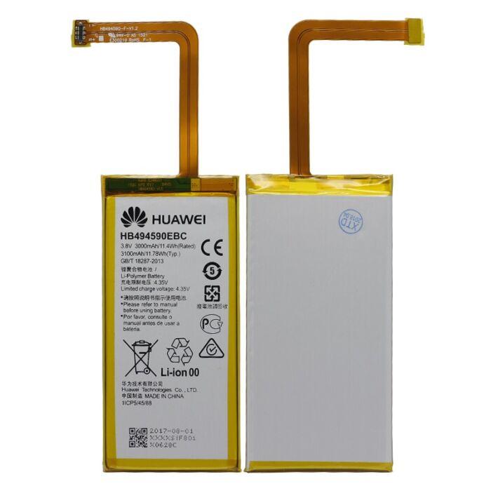 Gyári típusú akkumulátor Huawei Honor 7 típusú készülékhez, 3000 mAh (HB494590EBC)