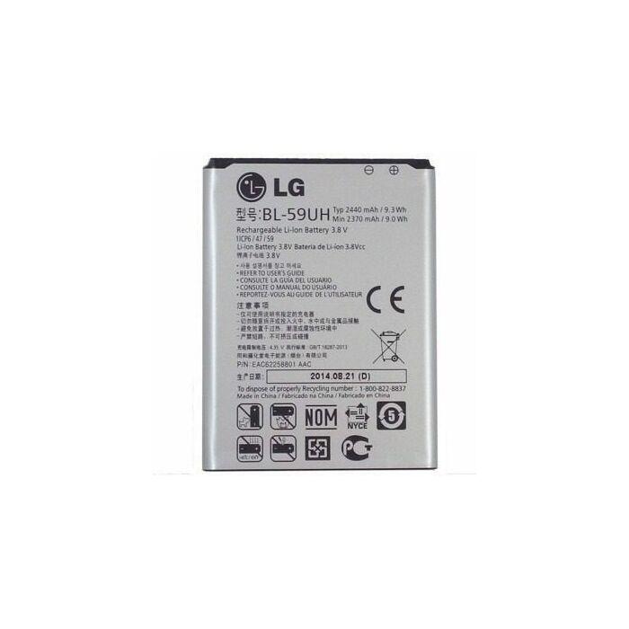 Gyári típusú akkumulátor LG G2 Mini (D620), LG F70 (D315) típusú készülékhez, 2440 mAh (BL-59UH)