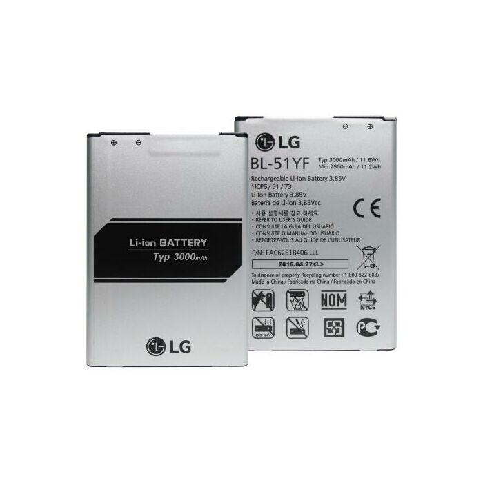 Gyári típusú akkumulátor LG G4 (H815) típusú készülékhez, 3000 mAh (BL-51YF)