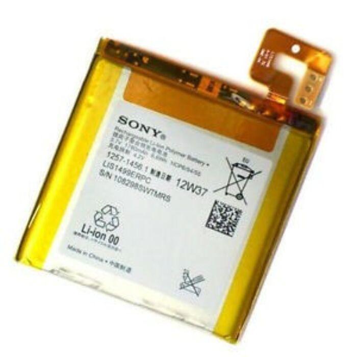 Sony Xperia T (LT30), gyári típusú akkumulátor, 1780 mAh (1257-1456, LIS1499ERPC)