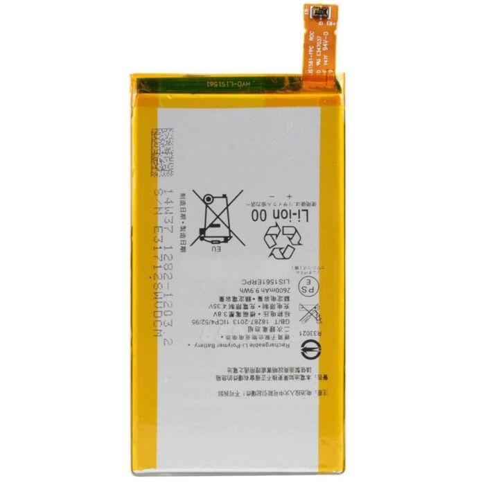 Gyári típusú akkumulátor Sony Xperia Z3 Compact (D5803, D5833) típusú készülékhez, 2600 mAh (1282-1203, LIS1561ERPC)