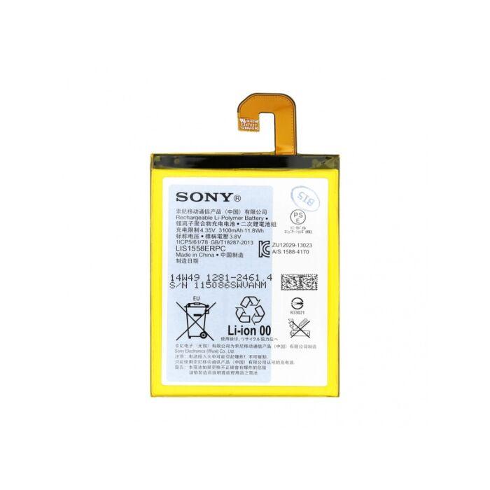 Sony Xperia Z3 (D6603), gyári típusú akkumulátor, 3100 mAh (1281-2461, LIS1558ERPC)