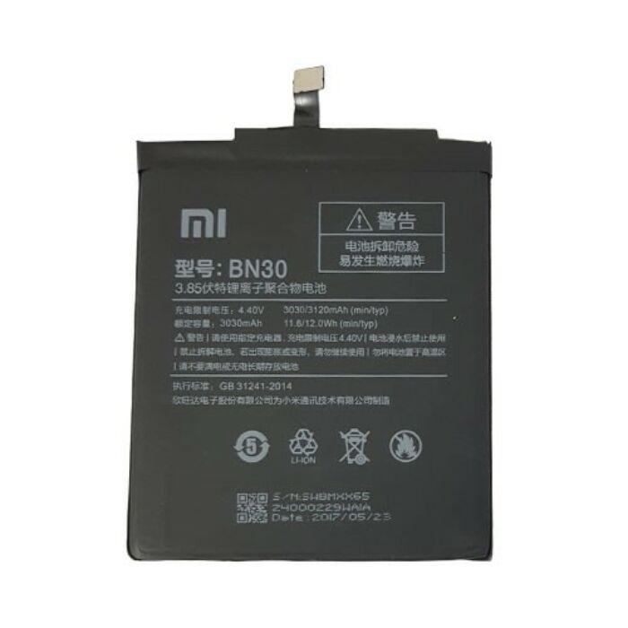 Xiaomi Redmi 4A, gyári típusú akkumulátor, 3030 mAh (BN30)
