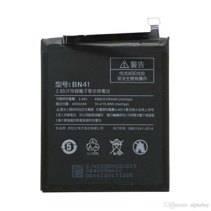 Xiaomi Redmi Note 4, gyári típusú akkumulátor, 4100 mAh (BN41)