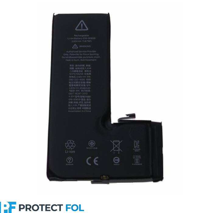 Apple iPhone 11 Pro (5.8) gyári típusú akkumulátor, 3046 mAh (616-00658, 616-00659 kompatibilis)