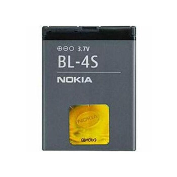 Nokia 2680s, 3600s, 7610, gyári típusú akkumulátor, 860 mAh (BL-4S)