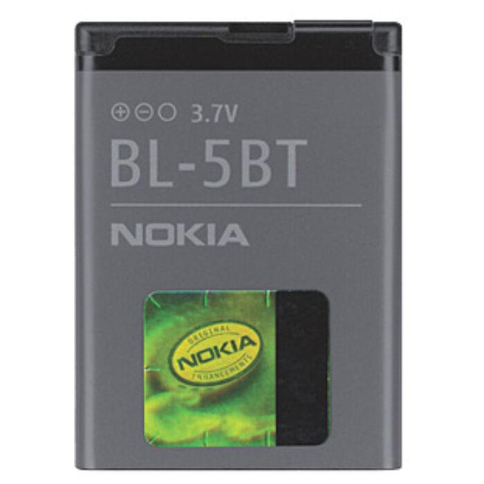 Gyári típusú akkumulátor Nokia Supernova 2600, 7510, N75 típusú készülékhez, 870 mAh (BL-5BT)