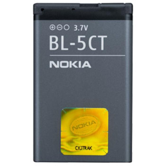 Nokia 5220, 6303, 6730, C5, gyári típusú akkumulátor, 1420 mAh (BL-5CT)