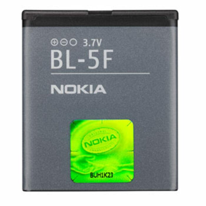 Nokia 6210, 6710, N95, gyári típusú akkumulátor, 950 mAh (BL-5F)